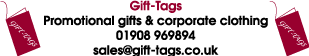 No Minimum Order Quantity Promotional Products From Gift-Tags